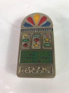 Slot Gambling Machine Vintage Lighter Slots Casino Rare Collectible
