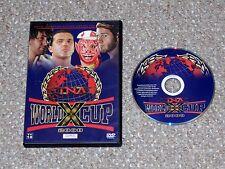 TNA Wrestling World X Cup 2008 DVD