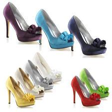 Ribbon Stiletto Heels for Women