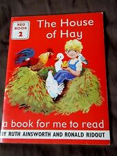 The House Of Hay ~ A Book for me to read by Ruth Ainsworth Ronald Ridout Red Bk2