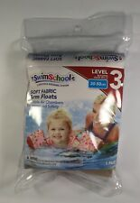 New Swimming Floatation Devices Girls Soft Fabric Arm Floats 30-50lbs Level 3