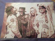 Nikki Sixx Motley Flood Imprimé Photo sur toile plusieurs tailles 30 mm Deep Metal