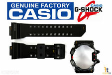 CASIO G-Shock G'Mix GBA-400-1A Original Black Rubber Watch BAND & BEZEL Combo