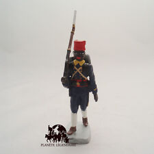 Figurine soldat plomb Tirailleur Sénégalais Hachette CBG Guerre Mondiale Poilu