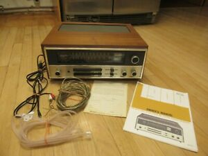 McIntosh MAC-1900 Solid State AM/FM Stereo Receiver with Wood Cabinet & Manuals