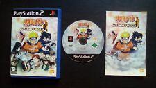 NARUTO ULTIMATE NINJA : JEU Sony PLAYSTATION 2 PS2 (complet, envoi suivi)