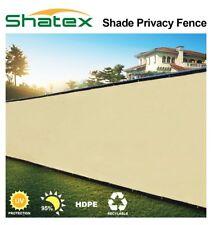 5x10ft Wheat Fence Windscreen Privacy Screen Shade Cover Fabric Mesh Garden Tarp