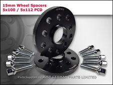 Roue Alliage Entretoises 5X100 5X112 57.1 15 mm + Extended Boulons VW Audi Seat Skoda
