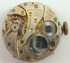 Orvin Watch Co. Mechanical Wristwatch Movement - C.681 -  Parts / Repair