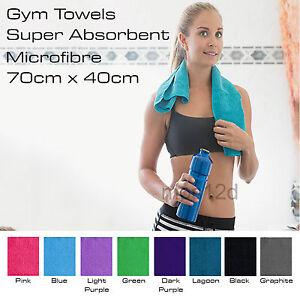 Sport Gym Towel Absorbent Microfibre Micro Fiber Sport Travel - Quick Drying