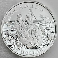 Canada 2014 $15 The Voyageurs – Exploring Canada, Pure Silver Matte Proof Coin