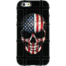 Magpul Field Case iPhone 6,6s,7,7+ PLUS. Custom Skull USA Flag by Ego Tactical