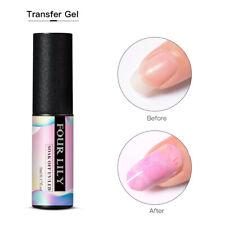 FOUR LILY Top Coat Gel Base Coat Primer UV Led Nail Polish Soak Off Manicure 5ml