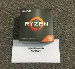 AMD Ryzen 5 5600X AM4 CPU Processor (3.7GHz, 6 Cores)