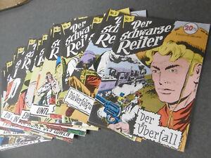 Hethke: SCHARZE REITER Kolibri Comics 1-20 komplett (Lehning Reprints)  [4035]