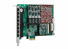 OpenVox AE810EF 8 Port Failover Analog PCIe card 4 FXO 4 FXS + Echo Canncalation