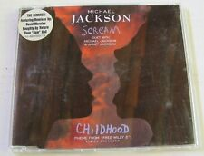MICHAEL JACKSON (Maxi CD 5 tracks JEWEL CASE) SCREAM  The REMIXES