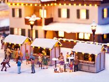 Noch 12026 Auf dem Weihnachtsmarkt Deko Szene mit Figuren H0 (1:87)