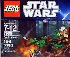 Lego 7956 Star Wars Ewok Attack 166 pcs NIB