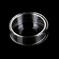 60mm Glass tissue petri dish culture dish culture plate with cover 9UK WD