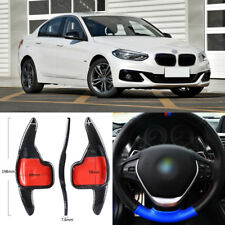 Carbon Fiber Gear DSG Steering Wheel Paddle Shifter Cover For BMW 1 Series 17-18