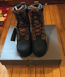 """LaCrosse HIGHWALL 8"""" Safety Toe Met Guard 00552085 NEW Size 8.5 Wide"""