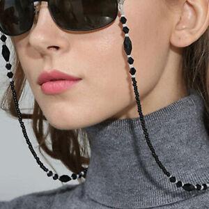 Women Eyeglass Chains Beads Chains Anti-slip Cord Holder Neck Strap Glasses Rope