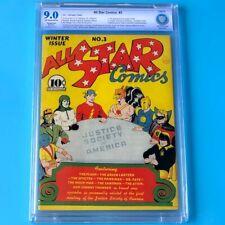 All Star Comics #3 (DC 1940) 💥 CBCS 9.0 Restored 💥 1st App of JSA! Key Comic