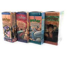HARRY POTTER YEARS 1-4 UNABRIDGED ON CASSETTES. By J.K. Rowling Read by Jim Dale