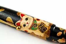 Namiki Emperor Maneki-neko (Beckoning Cat)  Makie Limited Edition Fountain Pen