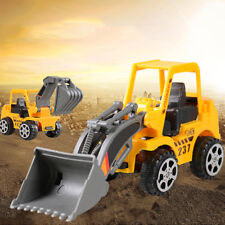 Kids Toy Yellow Mini Engineering Vehicle Car Truck Excavator Model Toys Boy Gift