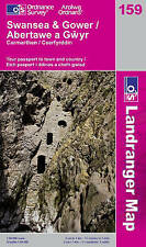 Swansea and Gower, Carmarthen (OS Landranger Map), Ordnance Survey, Good, Paperb