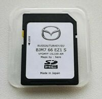 MAZDA CONNECT BJM766EZ1S 2020 Navigation sd card Europe Germany CX-5 CX-3 2 3 6
