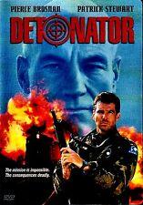 NEW  DVD // DETONATOR // Pierce Brosnan, Patrick Stewart, Christopher Lee