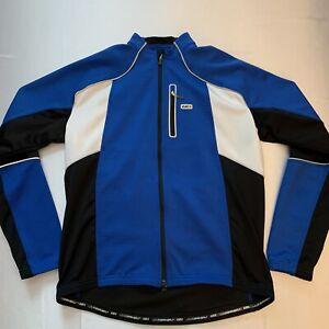 NWOT Louis Garneau Men's Full Zip Cycling Softshell Jacket Medium Weight XL New