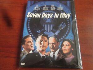Seven Days in May [DVD] NEW AND SEALED REGION 1  Burt Lancaster Kirk Douglas