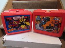 4 Lunch box LOT GO-BOTS Aladdin Dick Tracy Ninja Ninja Turtles Power Rangers