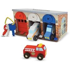 Melissa & Doug 'Lock and Roll' Rescue Vehicle Garage - Brand New