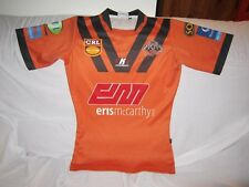 COUNTRY RUGBY LEAGUE ENTRANCE TIGERS JERSEY PLAYER FIT MEDIUM #18