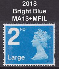 2013 Machin 2nd Class Large NVI SG U3032 MA13+MFIL Very Fine Used VFU Stamp