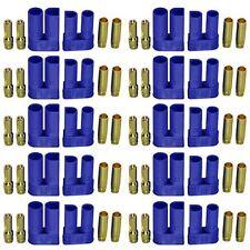 10Pair RC EC5Male Female  Banana Lipo Battery Connector 5.0mm Gold Bullet Plug B