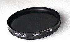 62mm Quantaray C-PL Circular Polarizer Filter - NEW
