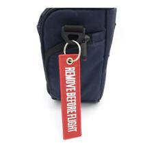 Llavero para equipaje maletas con frase quitar antes de volar (Envio express)