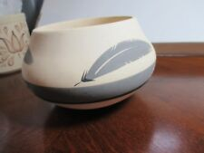Mesa Verde? Pottery Bowl with Feather Design