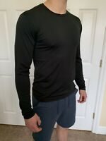 Lululemon Men's Size XL Metal Vent Breathe Long Sleeve LS Black BLK NWT