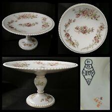 Antique Victorian Hobnob Shabby Chic Floral Cake Stan Diamond Reg Backstamp