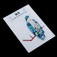 Universal Bird DIY Inlay Sticker Decal Guitar Headstock Bass Body Headstock Accs