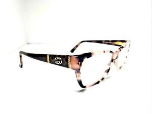 Authentic Gucci GG 3559 L76 Pink Brown Havana 55mm Glasses Frames RX-able  ME