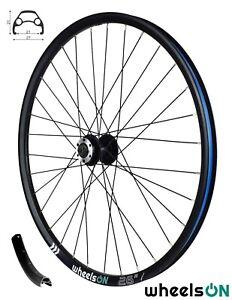 26 Inch wheelsON Front Wheel Mountain Bike 32H Disc Black QR