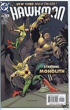 Hawkman 2002 series # 33 near mint comic book